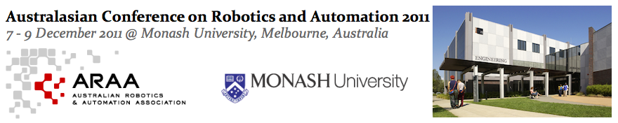 Australasian Conference on Robotics and Automation 2011