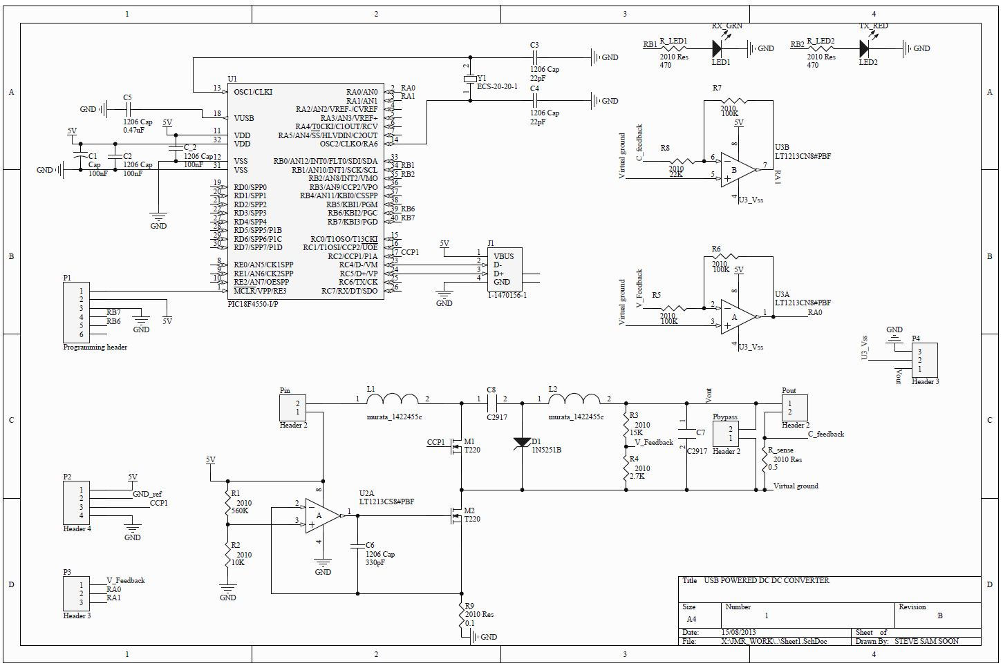 Homepage Dr Jean Michel Redoute Usbpowered Pic Programmer Circuit Schematic